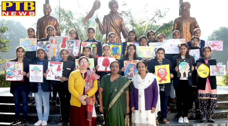 Poster Making Competition organized at HMV