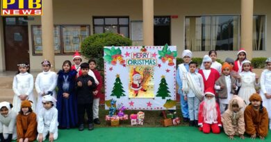 Christmas was celebrated in all four schools of Innocent Harts Jalandhar