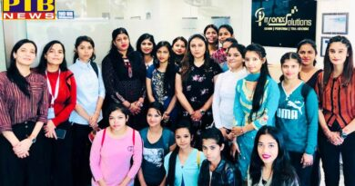 KMV Organizes a Workshop at Itronix Solutions, Mohali for the Students of B.Voc. Retail Management and M. Voc. Retail Management