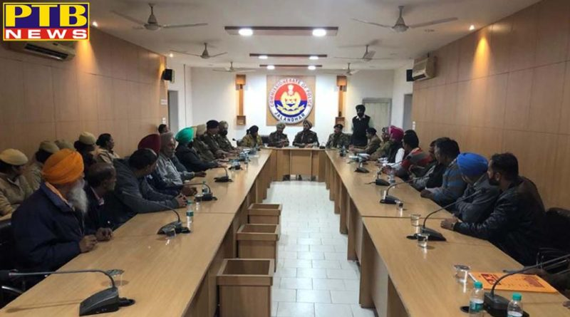 Accord top Priority to Safety and Security of Women-CP Directs Field Officers Jalandhar