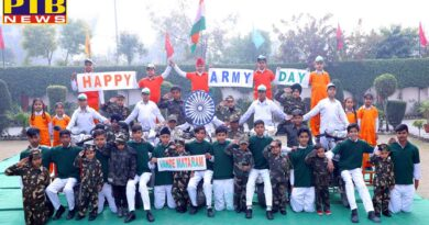 Army Day Celebrated by Students of St Soldier Group of Institutions