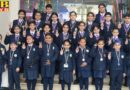 Talented students of Cambridge International School Dasuha excelled in the English Olympiad examination