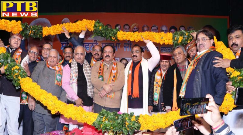Ashwani Sharma becomes president of Punjab Pradesh BJP