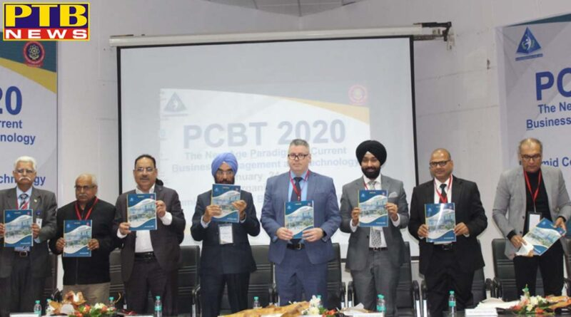 International Conference held at Pyramid College of Business and Technology grand event Jalandhar