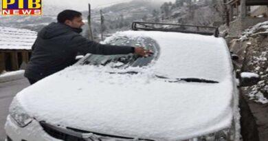 Himachal Pradesh snowfall in himachal Shimla