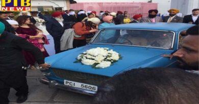 gurik brought doli same car her parents marriage Patiala Punjab