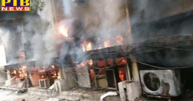 delhi transport department office caught fire 26 fire tenders on the spot