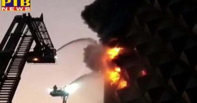 gujarat fire breaks out in raghuveer market in surat 40 fire tenders at spot