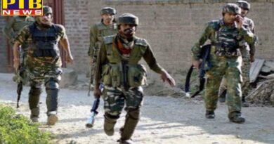 Jammu & Kashmir 3 terrorists pile up after firing at crpf post in nagrota
