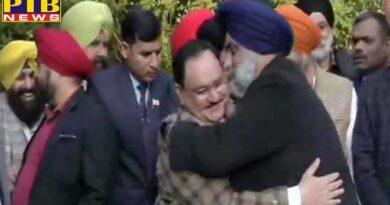 politics state sad chief sukhbir singh badal meets bjp president jp nadda