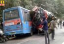 truck collided with hrtc two buses in nahan 12 injured himachal pradesh nahan
