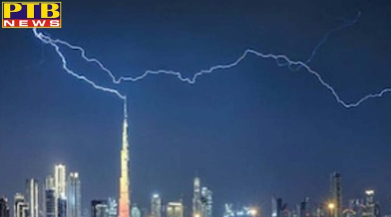 Photographer has to wait for seven years to capture the perfect picture of lightning