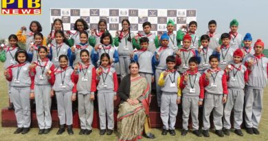 Ivy World School Jalandhar students perform brilliantly at Inter House Athletic Meet