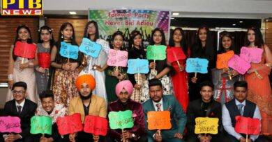 St. Soldier Model House gave 12 students the Farewell Party Jalandhar