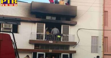 fire in a paying guest in chandigarh three girls burnt alive Punjab