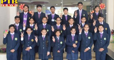 Talented students of Cambridge International School performed well in the (SOF) examination