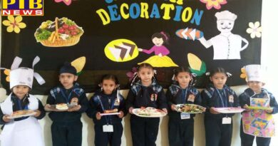 Little Chefs of Innocent Hearts Showcased their Artistic Talent in Sandwich Decoration