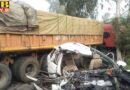 big road accident in dasuha four people including the grooms brother died