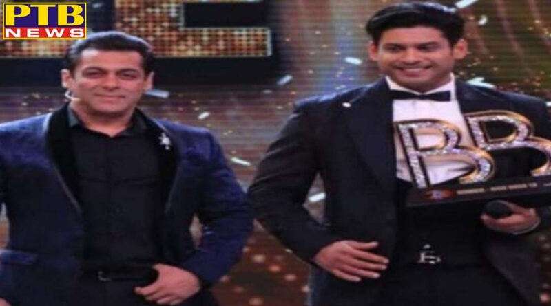 siddharth wins bigg boss by defeating asim shahnaz finished third Mumbai India