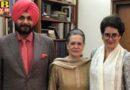 sidhu meets congress president sonia sonia gandhi एंड Priyanka Gandhi delhi