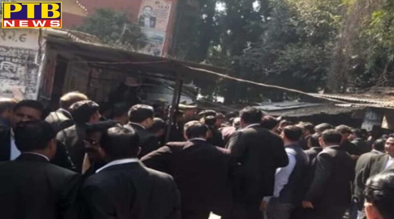 wajirganj court bomb blast many injured bomb found wajirganj lucknow