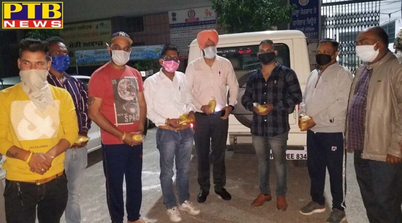 An organization in Jalandhar took up the initiative to serve the people fighting the battle with Corona
