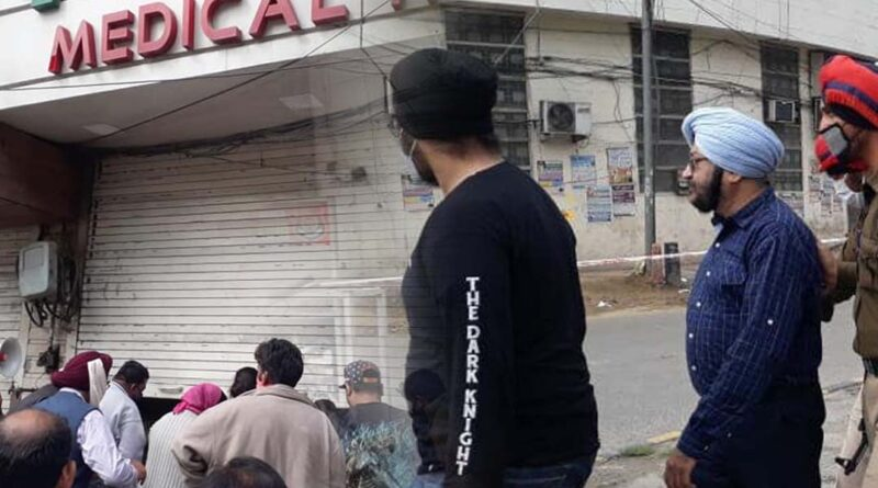 imperial medical hall owner arrest jalandhar Despite curfew, the shop was open Punjab