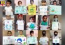 St Soldier Students spreading awareness with their painting from home