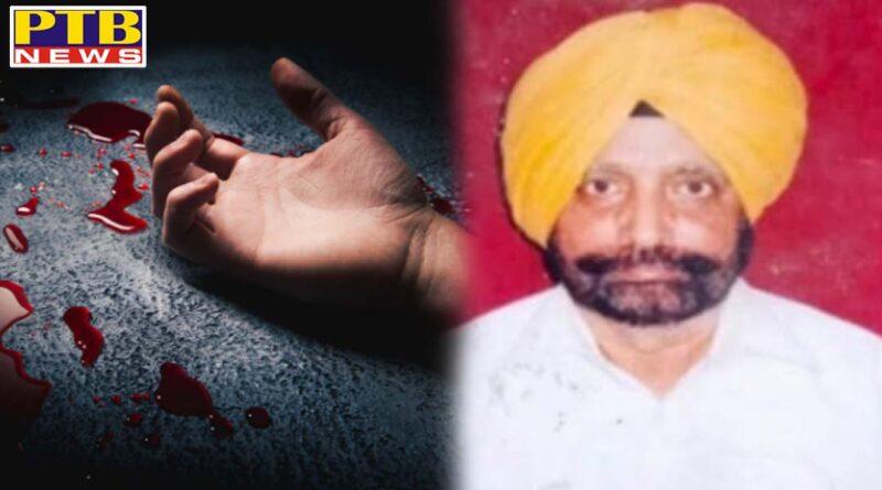 Big news from Punjab, brutal murder of advocate, investigation started by CCTV cameras