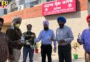 Following the guidelines of the Punjab Chief Minister former Cabinet Minister Rana Gurjit Singh sent sanitizers to Jalandhar's media and police