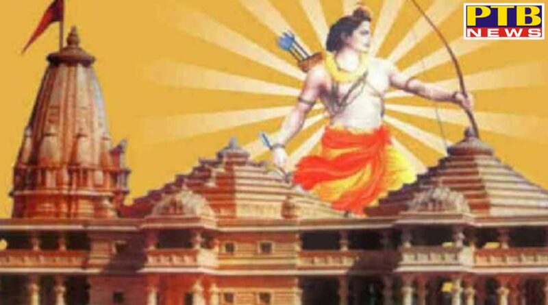 land for the construction of ram temple in ayodhya was started to be leveled statues of gods and goddesses found in the excavation
