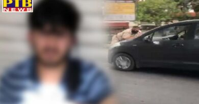 Youth tried to crush police personnel in Jalandhar, On the young man and his father Case of assault to murder filed