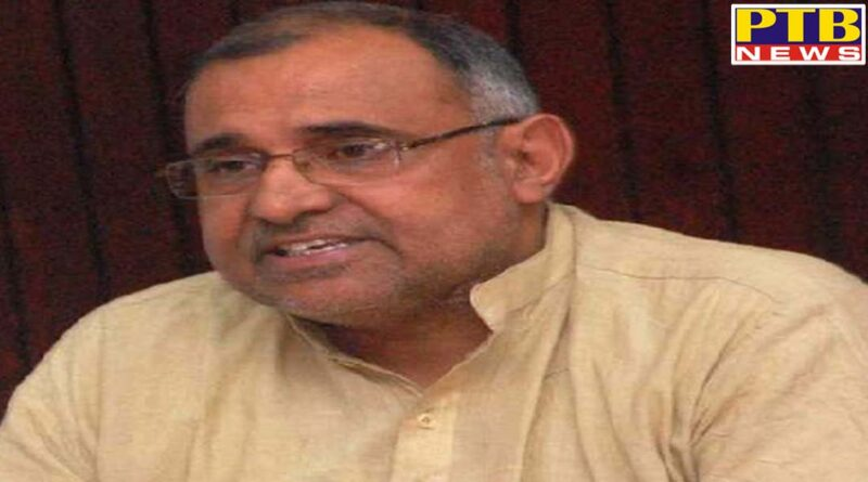 bjp leader avinash rai khanna becomes vice chairman of indian red cross society for the third time