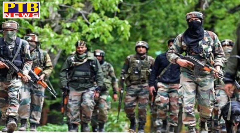 two terrorists infiltrating loc were killed National