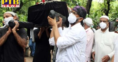 bollywood actor jagdeep last rites photo and video goes viral on internet