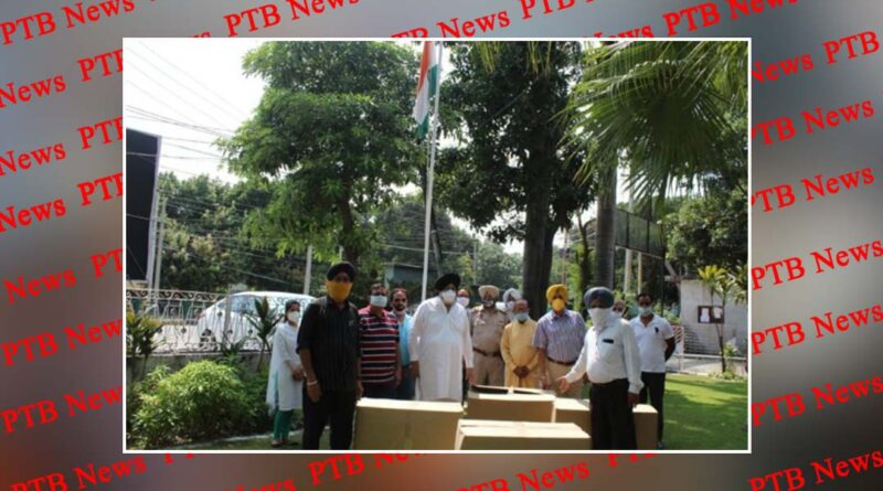 Chairman Daljit Singh Ahluwalia hoisted the tricolor at the Improvement Trust Campus on 74th Independence Day PTB Big Breaking News