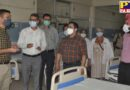dc Jalandhar khanshyam thori takes storck of upgraded icufor level-III covid patients
