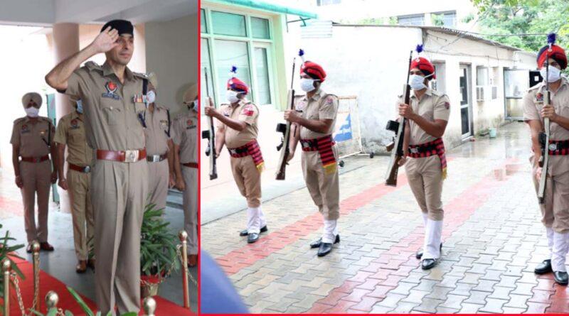 SSP Satinder Singh takes over as SSP Rural Jalandhar