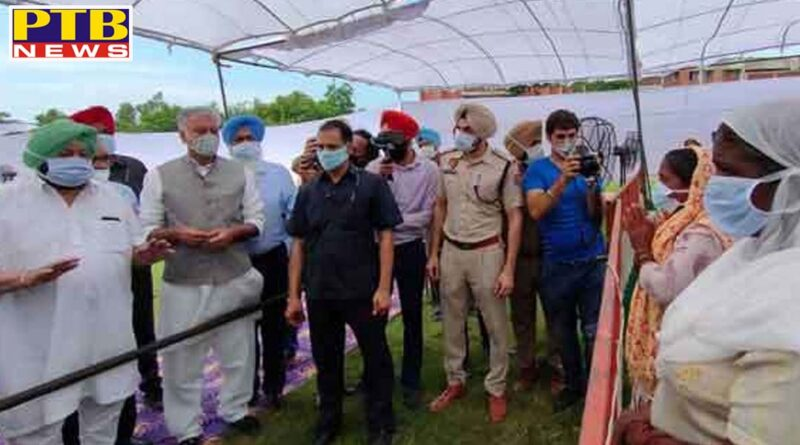 tarantaran death due to poisonous liquor case captain amarinder singh announced to giving five lakh rupees to the kin and government