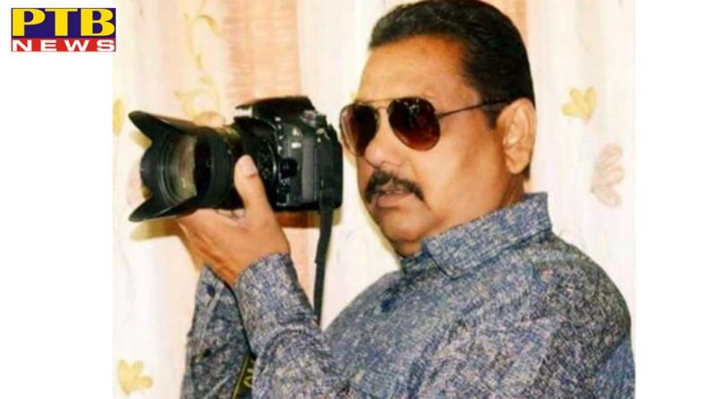 Jalandhar famous photo-journalist Surendra Chinda died He was suffering from kidney disease for a long time PTB Big News Jalandhar