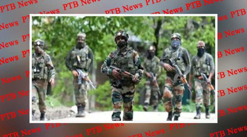 encounter has started at batamaloo area of srinagar Jammu