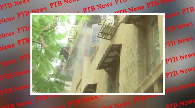 mumbai fire breaks out in exchange building at ballard estate houses ncb office sushant rhea drugs case?