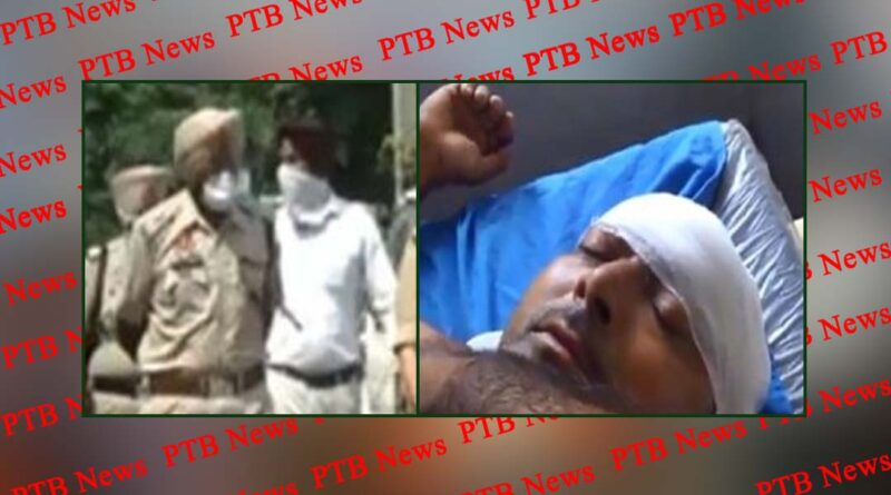 Big news from Punjab, youths attack on police, police register case on 19 Hoshiarpur Hariana