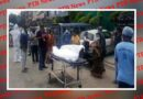 the dead body of a dead man died from corona Indore