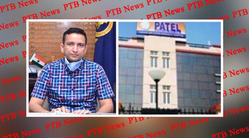 Wow DC sir! Jalandhar's famous Patel hospital had collected Rs 3.28 lakh from 106 patients in the name of covid-19 test Patel hospital