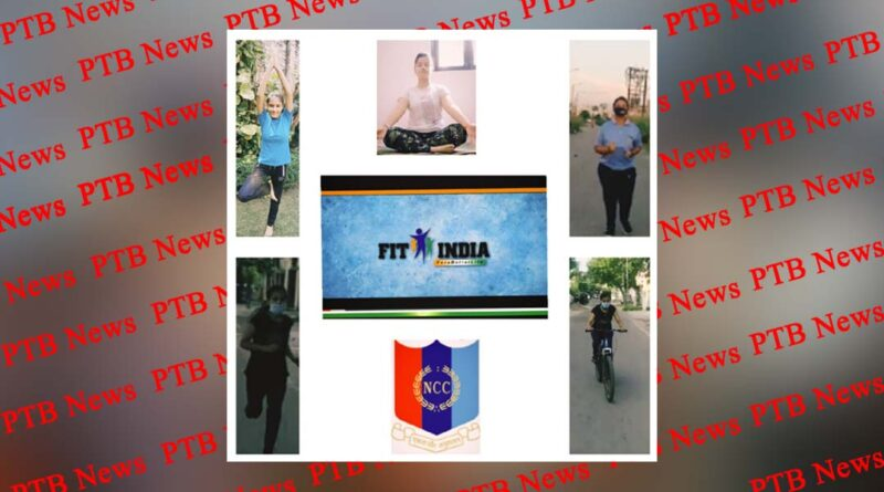 Fit India Freedom Run by NCC Cadets of PCM SD College for Women, Jalandhar