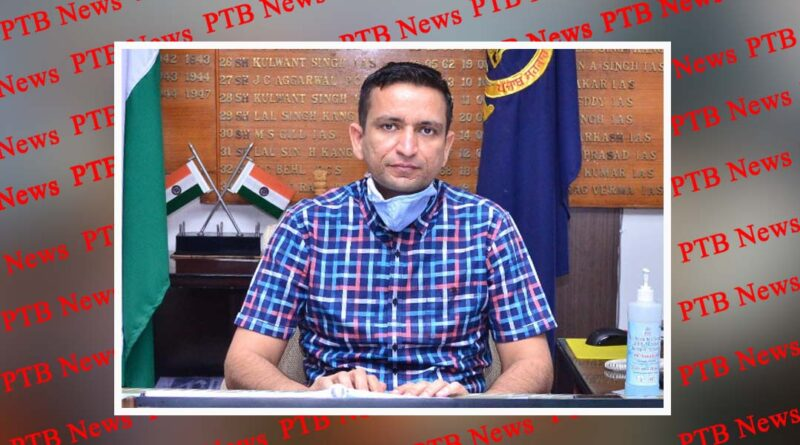 Collector Jalandhar ordered investigation into the case of leaving patients outside the railway station District Red Cross Society will bear the expenses of treatment and food for both patients admitted to ESI Hospital Jalandhar