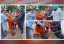 "To save the environment from the ""yug parivartan ek kadam"" organization thousands of plants were planted Panchkula Punjab"