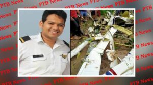 uttar pradesh varanasi pilot died in helicopter crash due bad weather in azamgarh up