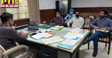 dc jalandhar ghanshyam thori asks officials to speed up theSports Hub project at Burlton Park, reviews modalities of bidding